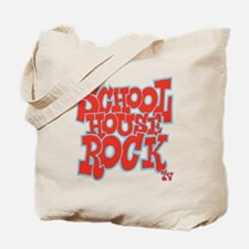 2-schoolhouserock_red_REVERSE Tote Bag