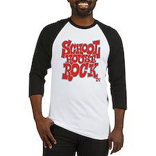 2-schoolhouserock_red_REVERSE Baseball Jersey