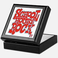 2-schoolhouserock_red_REVERSE Keepsake Box