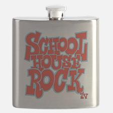 2-schoolhouserock_red_REVERSE Flask
