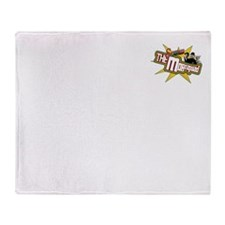 Logo6White Throw Blanket