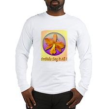 Barbara Belle Orchid Long Sleeve T-Shirt