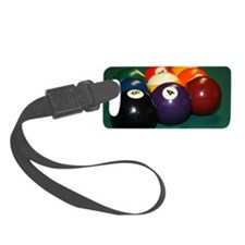 pool hall Luggage Tag