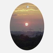 wdc-cloud-crane_post Oval Ornament