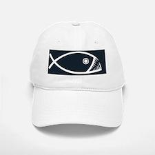 fish-fangs-BUT Baseball Baseball Cap