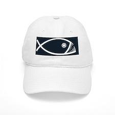 fish-fangs-CRD Baseball Cap