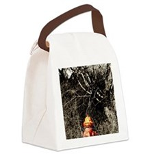 fire hydrant Canvas Lunch Bag
