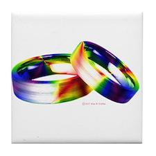Same-sex Marriage Tile Coaster