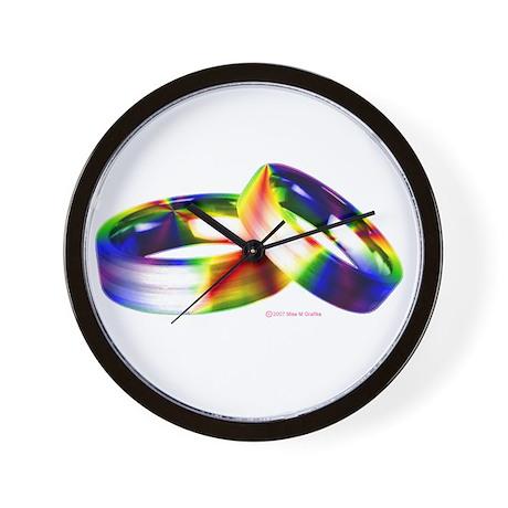 Same-sex Marriage Wall Clock