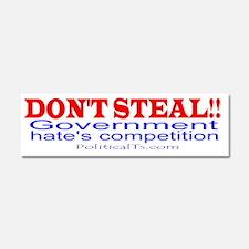 dont steal bumper sticker2 Car Magnet 10 x 3