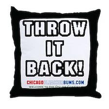 ThrowItBack Throw Pillow