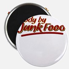 Body By Junk Food funny fatboy shirts Magnet