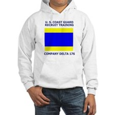 USCG Recruit Company D176<BR> Hoodie 2