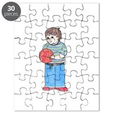 Taking Ball Home Black Copyright Puzzle