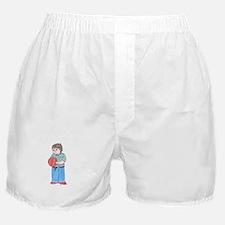 Taking Ball Home Black Copyright Boxer Shorts