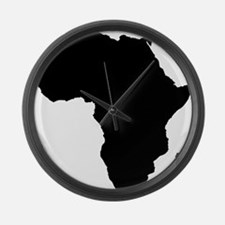 African Continent_Large Large Wall Clock