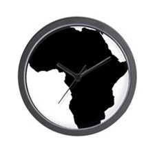 African Continent_Large Wall Clock