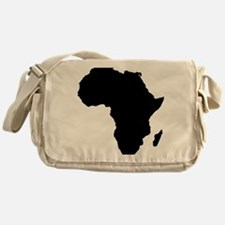 African Continent_Large Messenger Bag