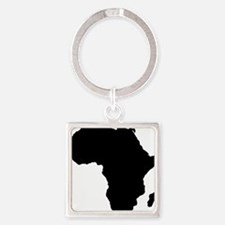 African Continent_Large Square Keychain
