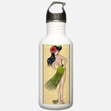 2-Hula gal-Lg-003 ( w- Water Bottle