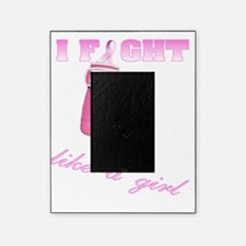 I Fight Like a Girl Boxing Gloves Picture Frame