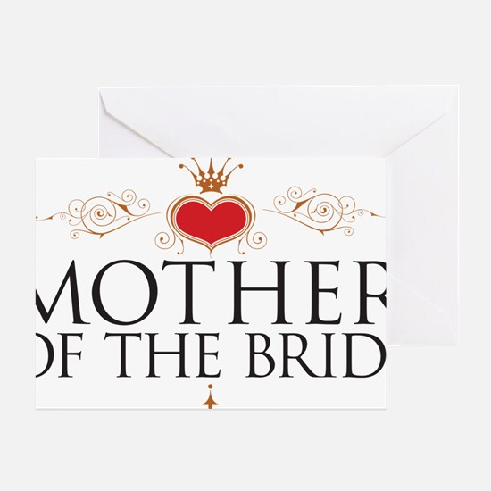 motherBrideGift Greeting Card