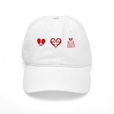 peaceShopBLKTee Cap