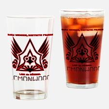 aztecas-champion-logo-2kx15 Drinking Glass