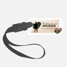 2-standing Luggage Tag
