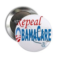 """Repeal ObamaCare template 041510 2.25"""" Button"""