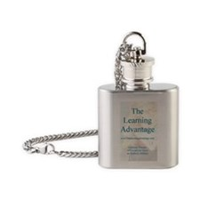 TLA Logo Flask Necklace