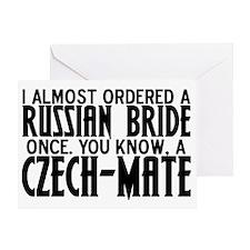 czechmate Greeting Card