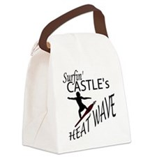 Surfin Castles HeatWave Canvas Lunch Bag