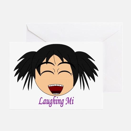 Laughing Mi Greeting Card