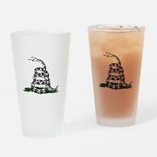 DTOM 10 -blk Drinking Glass