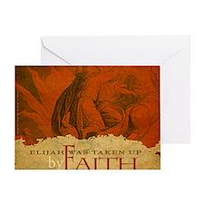 Mousepad_ByFaith_Elijah Greeting Card