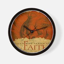 Mousepad_ByFaith_Elijah Wall Clock