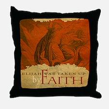 Mousepad_ByFaith_Elijah Throw Pillow