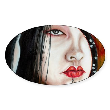 Red_FP Sticker (Oval)