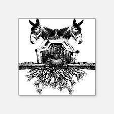 "mules_albumcover_shirt Square Sticker 3"" x 3"""