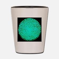 ART Green Light Shot Glass