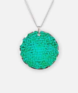 ART Green Light Necklace
