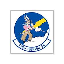 """176_fighter_squadron Square Sticker 3"""" x 3"""""""