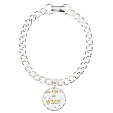 you_had_me_at_woof_gold- Bracelet
