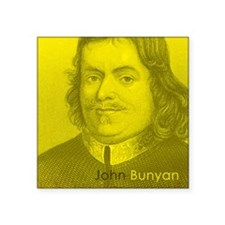 "Coaster_Heads_JohnBunyan Square Sticker 3"" x 3"""