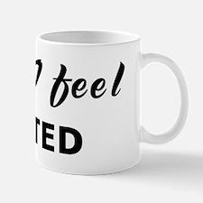 Today I feel gutted Mug