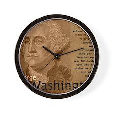 Mousepad_Washington_CrisisQt Wall Clock