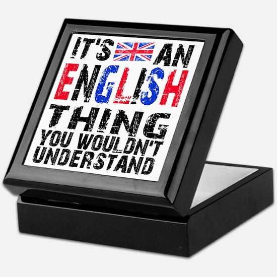 English Thing Keepsake Box