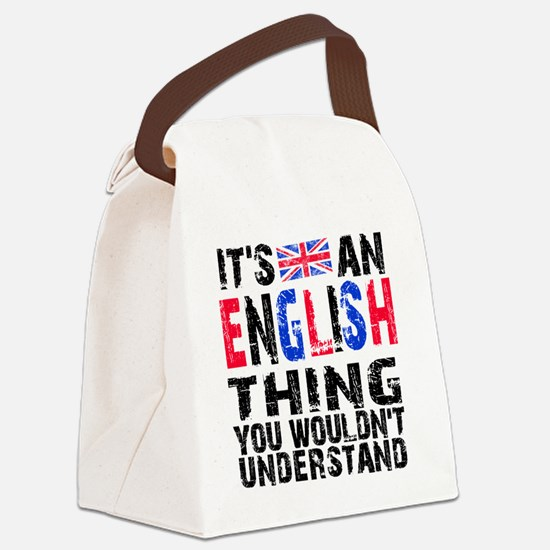 English Thing Canvas Lunch Bag