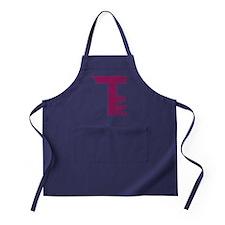 T Logo - Plain Apron (dark)